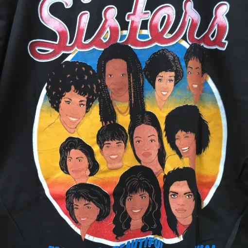 Sisters vintage 1997 million women march hip hop t shirt