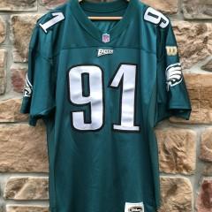 1996 Philadelphia Eagles Andy Harmon authentic wilson jersey