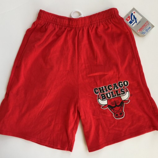 Vintage deadstock 90's Chicago Bulls The Game NBA Shorts size medium