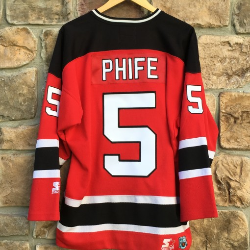 Phife Dawg A tribe called quest New Jersey Devil vintage jersey