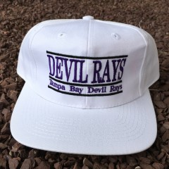 Vintage 90's Tampa Bay Devil Rays The Game MLB Snapback hat