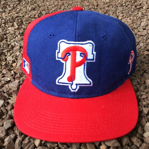 vintage 90's Philadelphia Phillies Sports Specialties Back Script Snapback hat