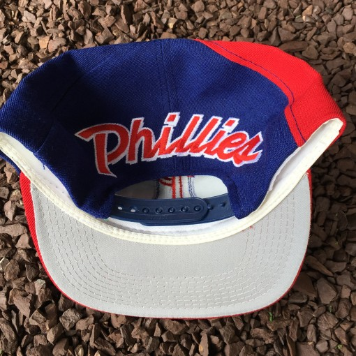 Vintage Philadelphia Phillies Back Script sports specialties