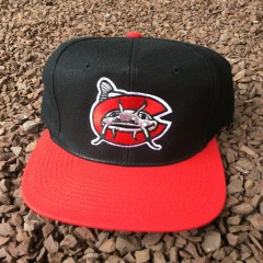 Vintage 90's Carolina Mudcats Minor League Snapback hat