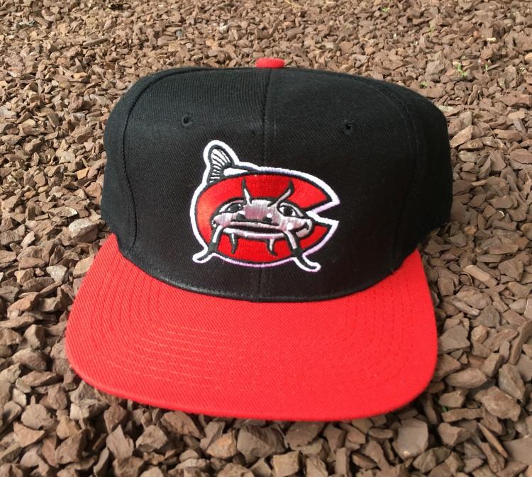 90 s Carolina Mudcats Minor League Baseball Snapback Hat  9e32b2bc570