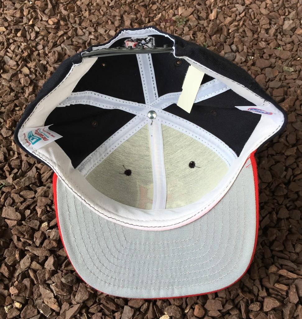 4d7f7b5d76de2 90 s Harrisburg Senators Black Minor League Baseball Snapback Hat ...
