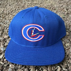 Vintage Columbus Clippers Minor League baseball snapback hat