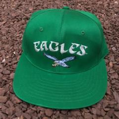 Vintage 80's Philadelphia Eagles AJD NFL snapback hat
