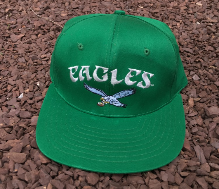 6abf5fc77 80's Philadelphia Eagles AJD NFL Snapback Hat