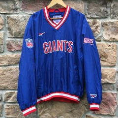 Vintage New York Giants Reebok NFL Pullover jacket 90's