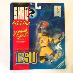 Vintage Shaq LSU toy figure