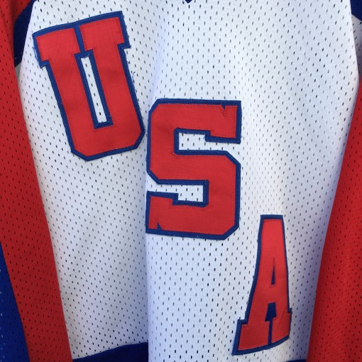 1984 Team USA Olympic Hockey jersey size large