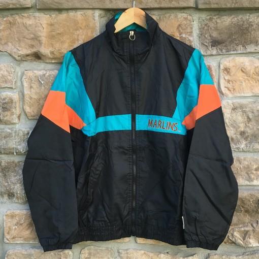 vintage Florida marlins mlb windbreaker jacket youth xl