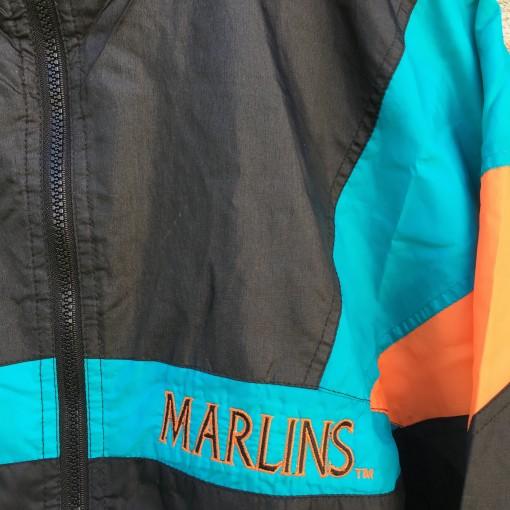 vintage 90's Marlins windbreaker jacket