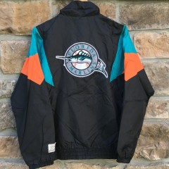 Vintage 90's Florida Marlins MLB windbreaker jacket
