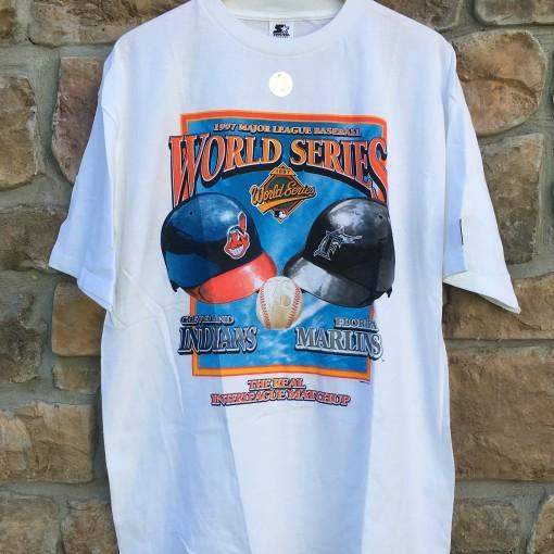 1997 world series MLB t shirt starter deadstock