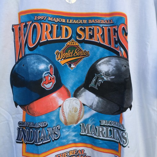 Indians Marlins 1997 World Series MLB t shirt