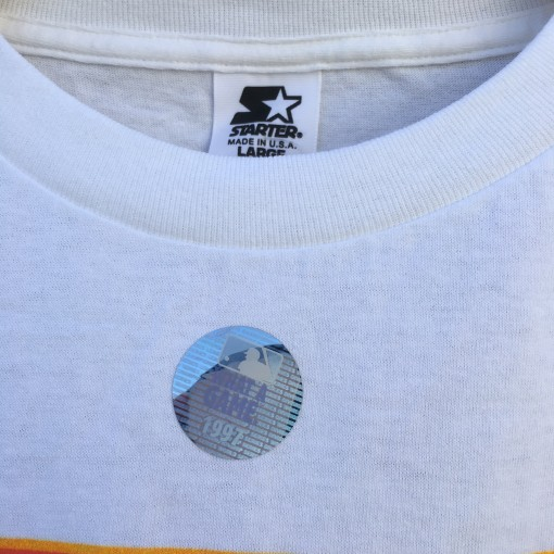 deadstock 90's Starter T shirt