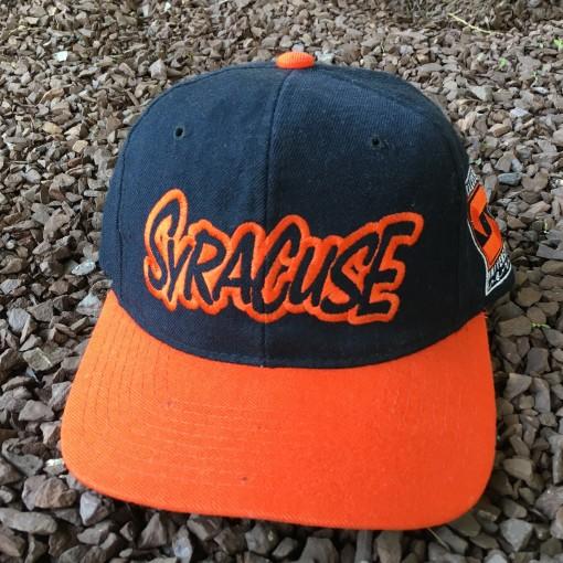 Vintage Syracuse Orangemen Starter NCAA snapback hat