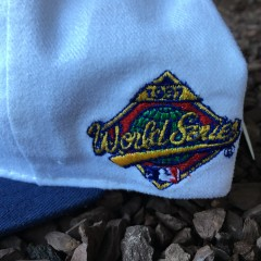 Vintage 1997 World Series Champions MLB Snapback hat