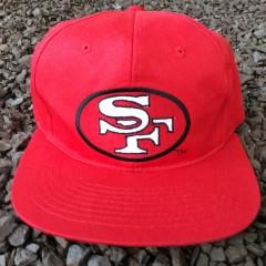 Vintage 90's San Francisco 49ers NFL snapback hat