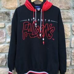Vintage Atlanta Falcons Starter double hooded NFL Sweatshirt size large