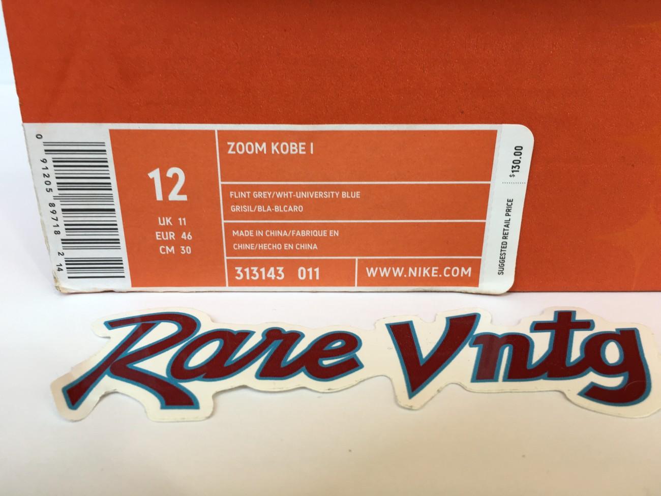 9684d140b4f2 Deadstock nike Kobe 1 sneakers size 12. Nike Zoom Kobe 1 OG MPLS ...