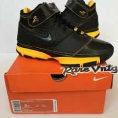 vintage nike zoom kobe 2 sneakers size 6