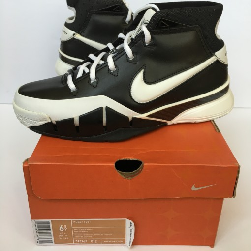 Nike Zoom kobe 1 black white sharpshooter