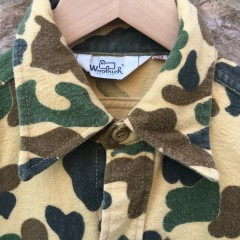 Vintage Woolrich Camo Button up shirt