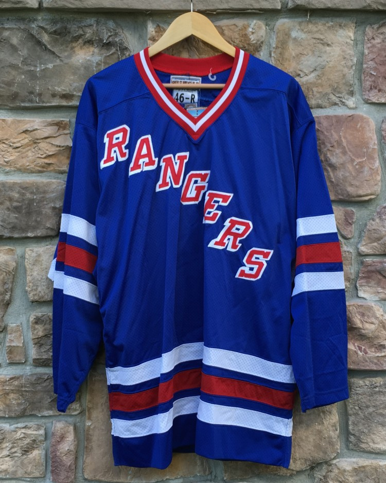 the best attitude b0d46 773a6 1996 New York Rangers Authentic Starter NHL Jersey Size 46