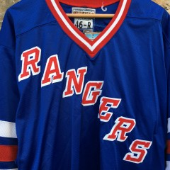 Authentic NY rangers blue jersey