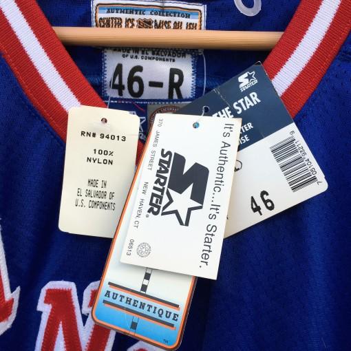 Brand new vintage 90's New York Rangers Starter jersey