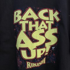 Back that ass up rikishi wrestling t shirt