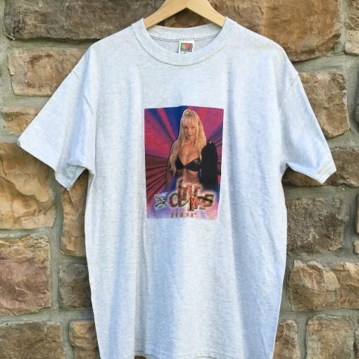 Vintage WWF Divas 90's wrestling shirt debra
