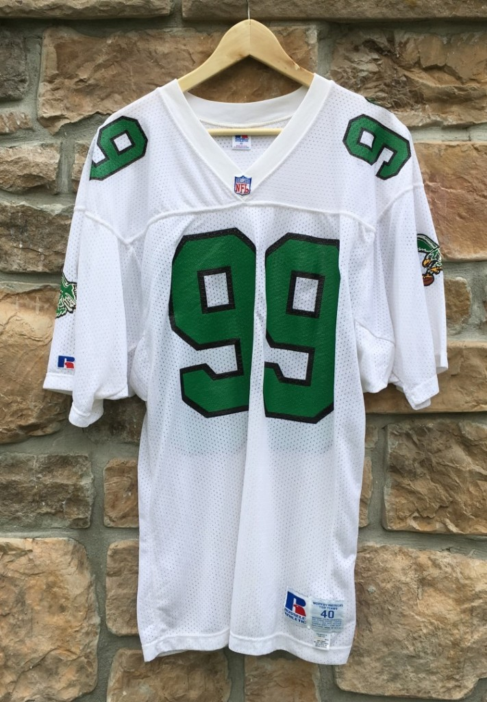 941f26ed8c2 1991 Jerome Brown Philadelphia Eagles Authentic Russell NFL Jersey ...