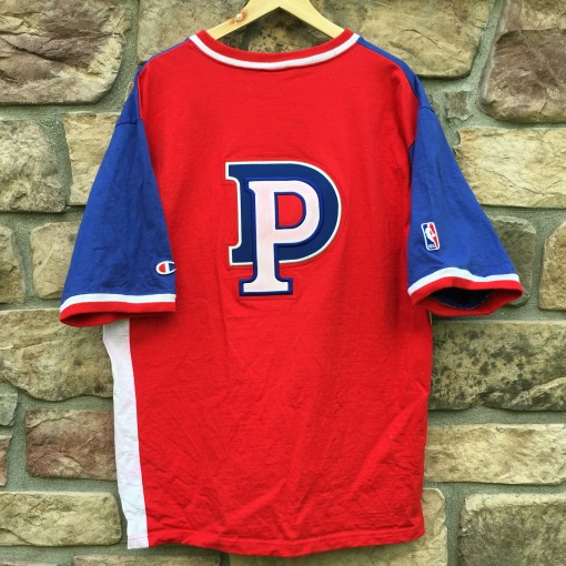 90's Detroit Pistons Champion NBA Warm up