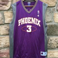 Vintage Phoenix Suns Stephon Marbury Champion NBA jersey size 40