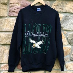 Vintage 1994 Philadelphia Eagles Bike NFL crew neck large