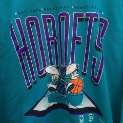 Vintage 90's Charlotte Hornets NBA Crewneck sweatshirt