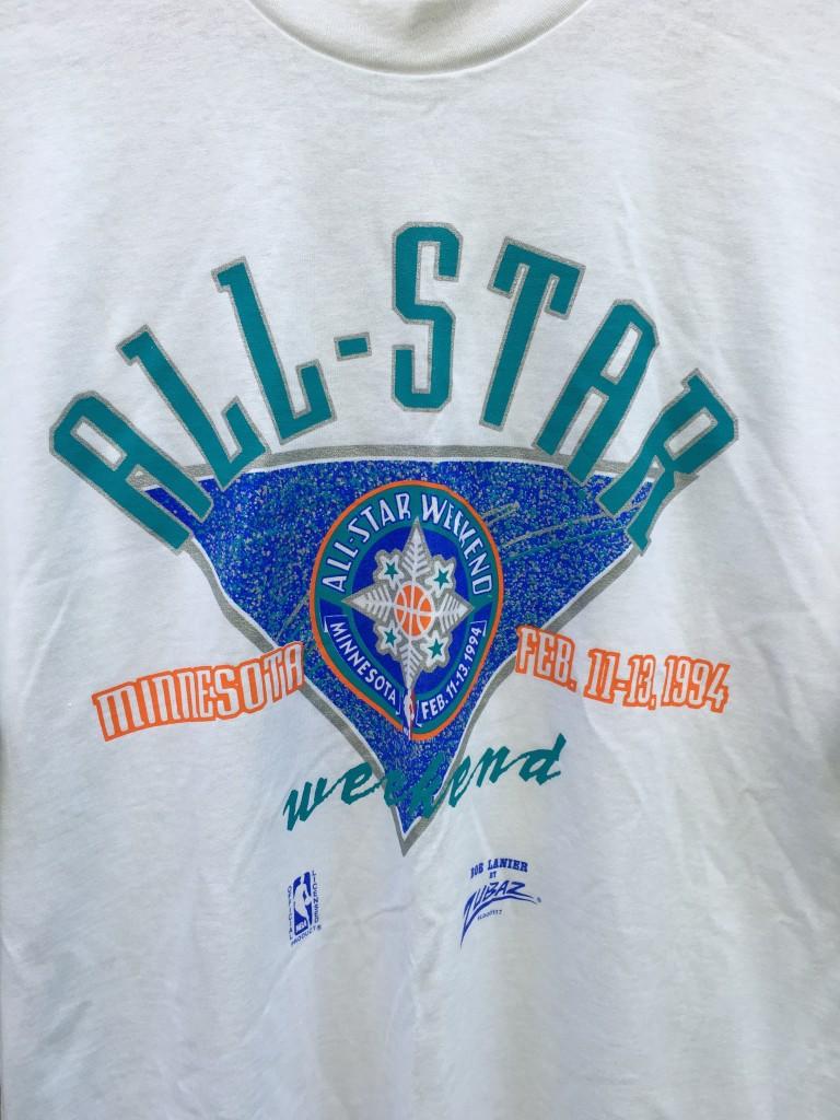 1994 Nba All Star Weekend Minnesota Zubaz White T Shirt
