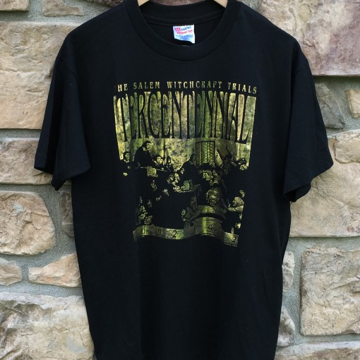 vintage 1992 Salem Witchcraft trials tercentennial t shirt size large