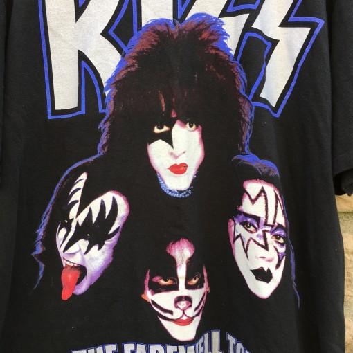 KISS the farewell tour t shirt vintage