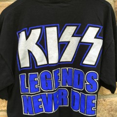 Vintage Kiss rock t shirt