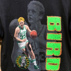 Vintage Larry Bird NBA T shirt
