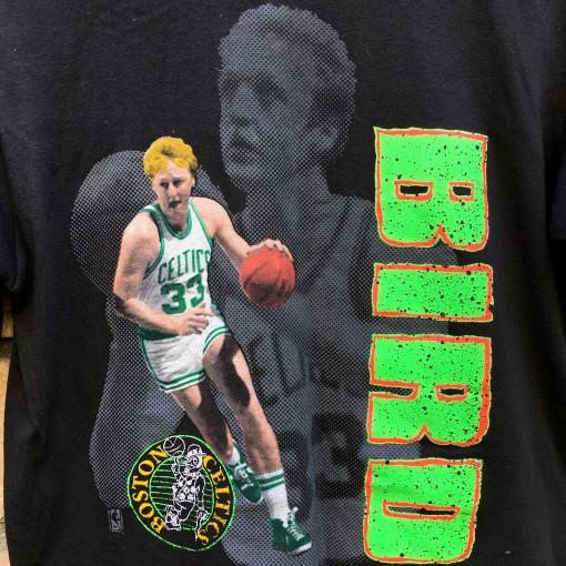 Vintage Larry Bird NBA T shirt