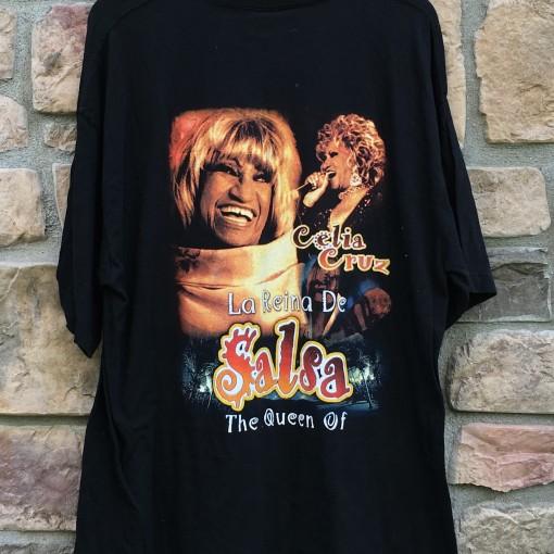 La Reina De Salsa Celia Cruz T shirt