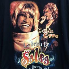 Vintage Celia Cruz rap style t shirt
