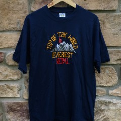 Vintage Top of the World Everest Nepal T shirt