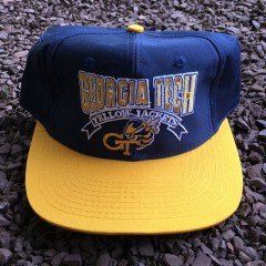 Vintage Georgia Tech NCAA The Game Snapback hat